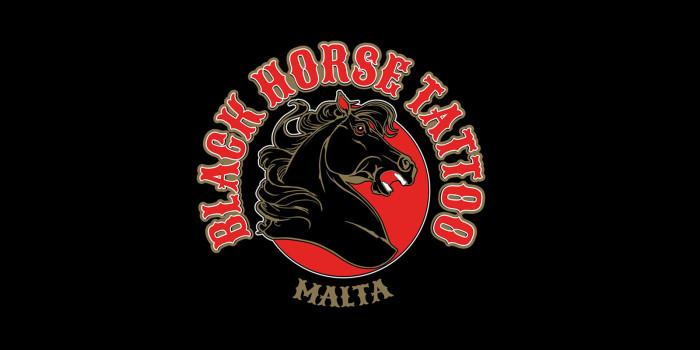 Black Horse Tattoo Malta Logo